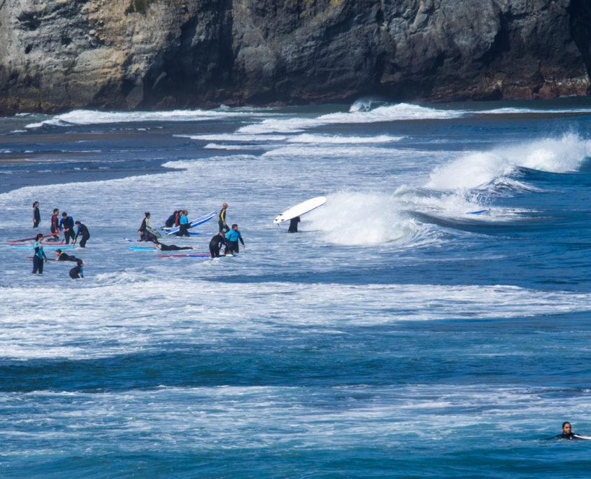 Ribeira Grande - surf pláž Santa Barbara